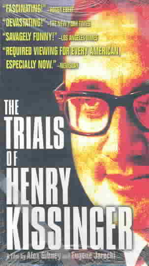 TRIALS OF HENRY KISSINGER BY KISSINGER,HENRY (DVD)